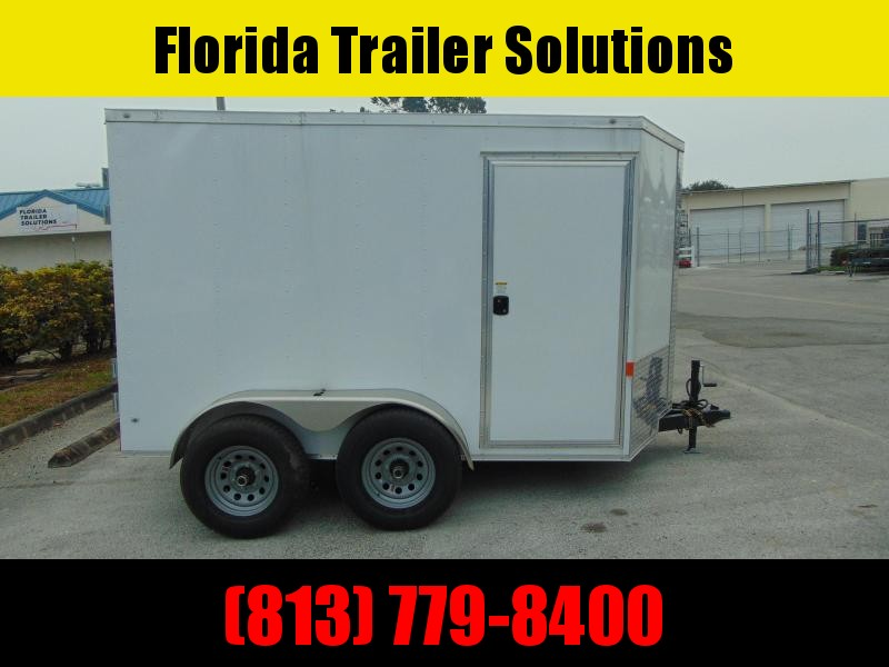 2021 Rock Solid Cargo 6X10TA Enclosed Cargo Trailer