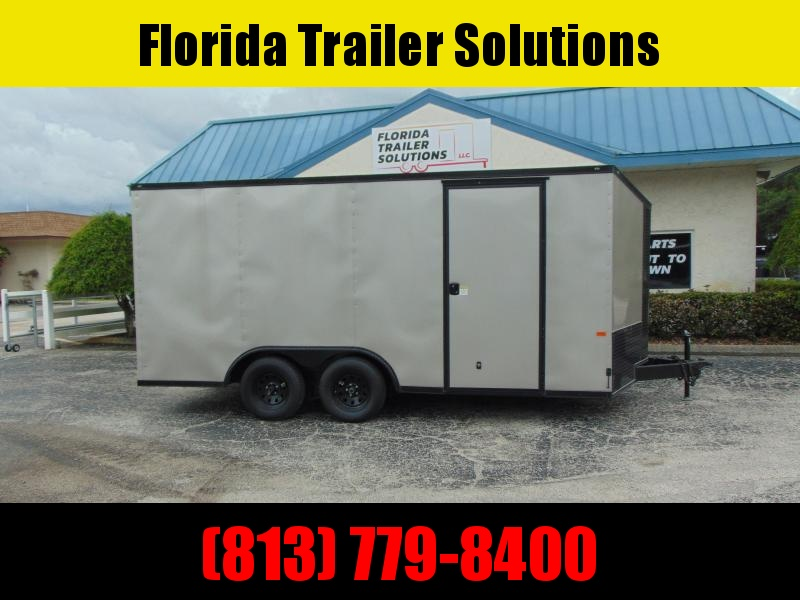 New Rock Solid Cargo 8.5X16TA 7k Enclosed Cargo Trailer
