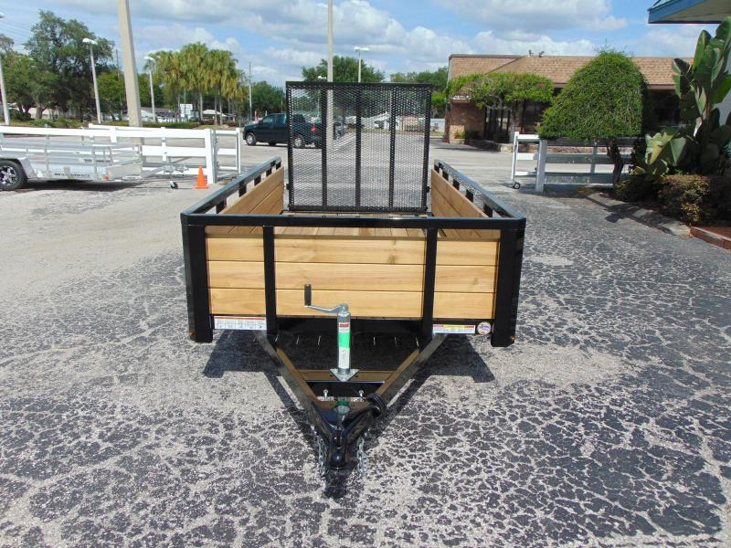 New Sure-Trac 5X10 Tube Top Three Board 3k Utility Trailer