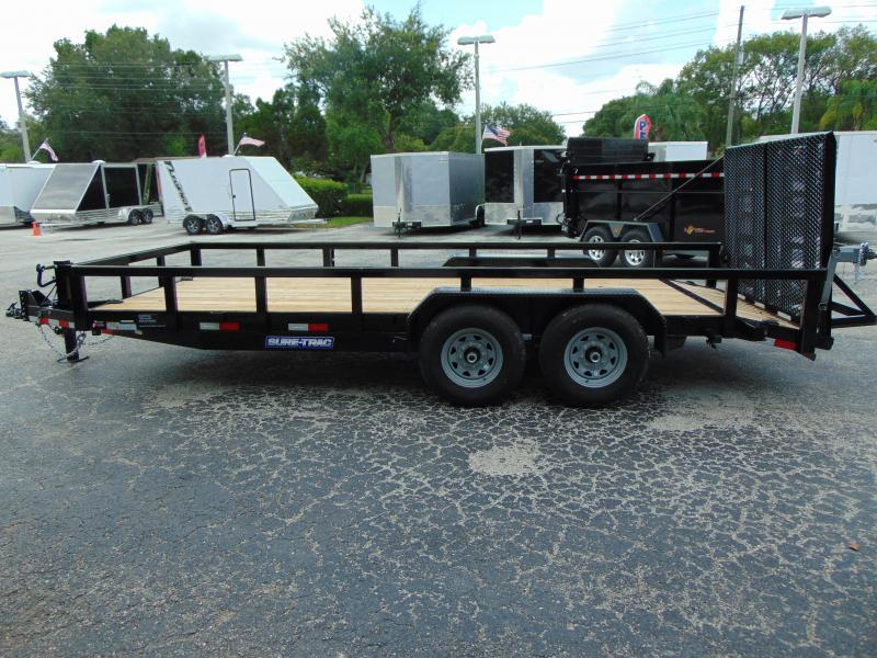 Pre-Owned Sure-Trac 7X18 14K Equipment Trailer