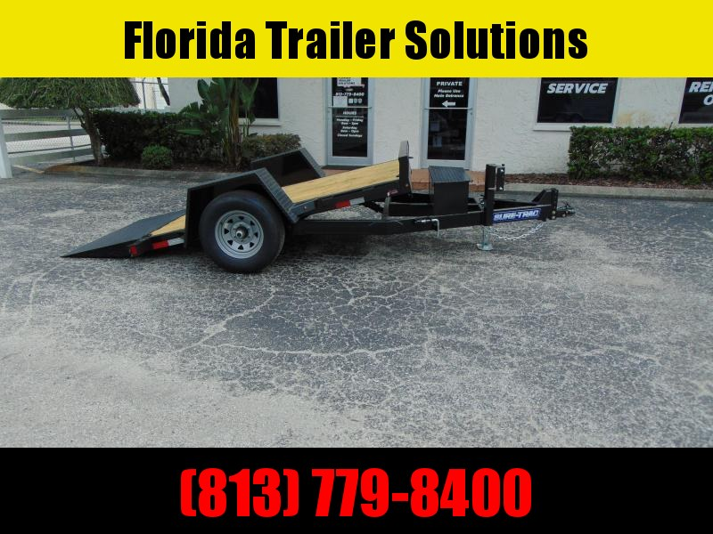 New Sure-Trac 5X10 Tilt Deck 6k Equipment Trailer