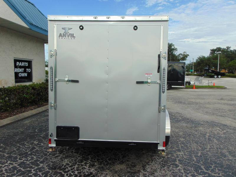 2021 Anvil 6X12 Tandem Axle 7K Enclosed Cargo Trailer