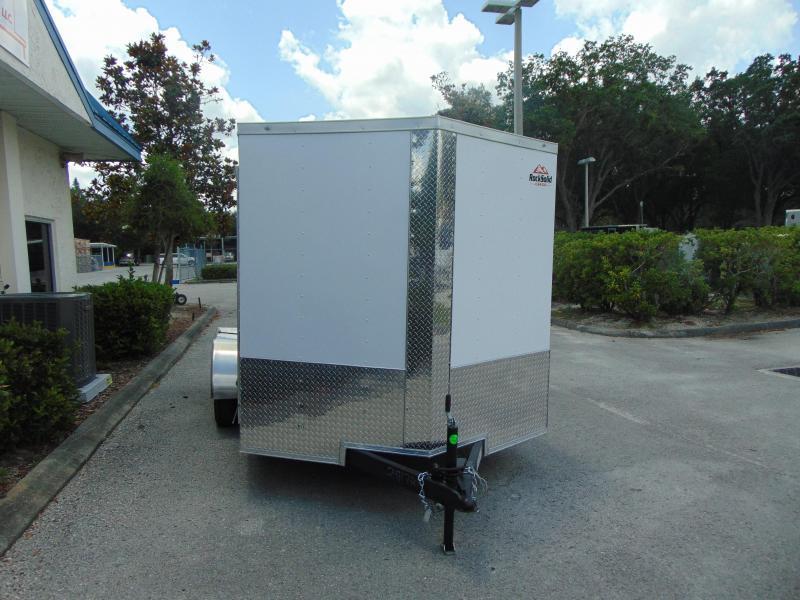 New Rock Solid Cargo 7X12 Tandem Axle 7K Enclosed Cargo Trailer