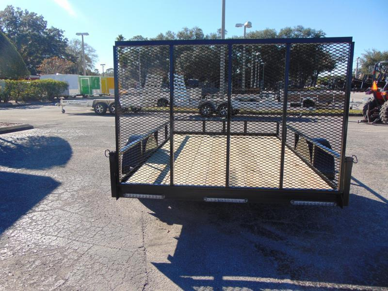 New Rhino Trailers 6X12TA Tube Top Utility Trailer