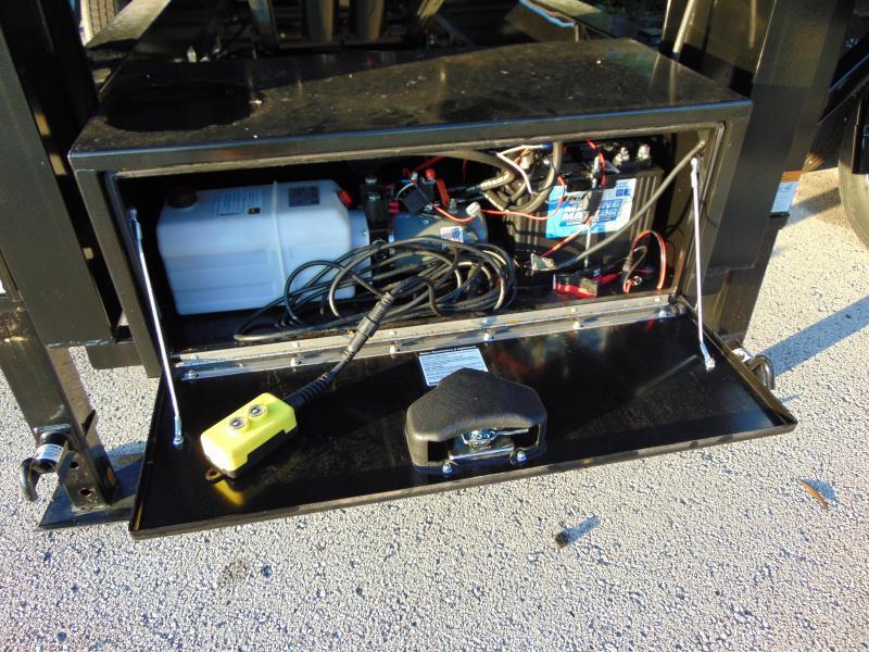 Pre-Owned 2021 Sure-Trac 82X16 HD Gooseneck 25.9K Dump Trailer w/4' Sides