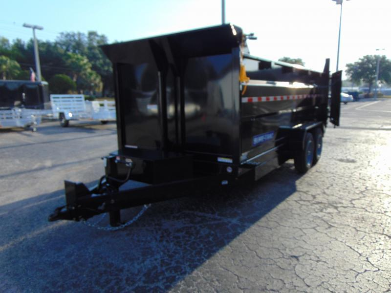 New Sure-Trac 82X16 16K-4ft Sides- Telescopic Dump Trailer