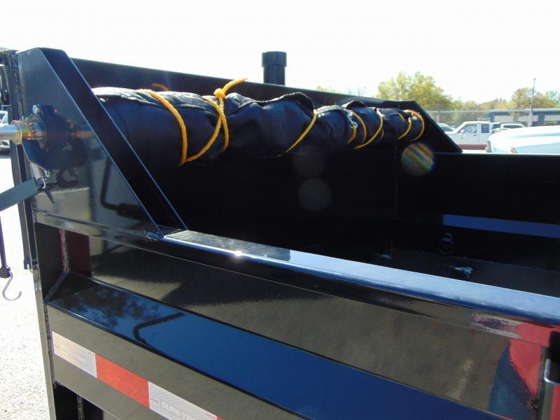 New Sure-Trac 82x16 Low Profile 14k Telescopic Hoist Dump Trailer