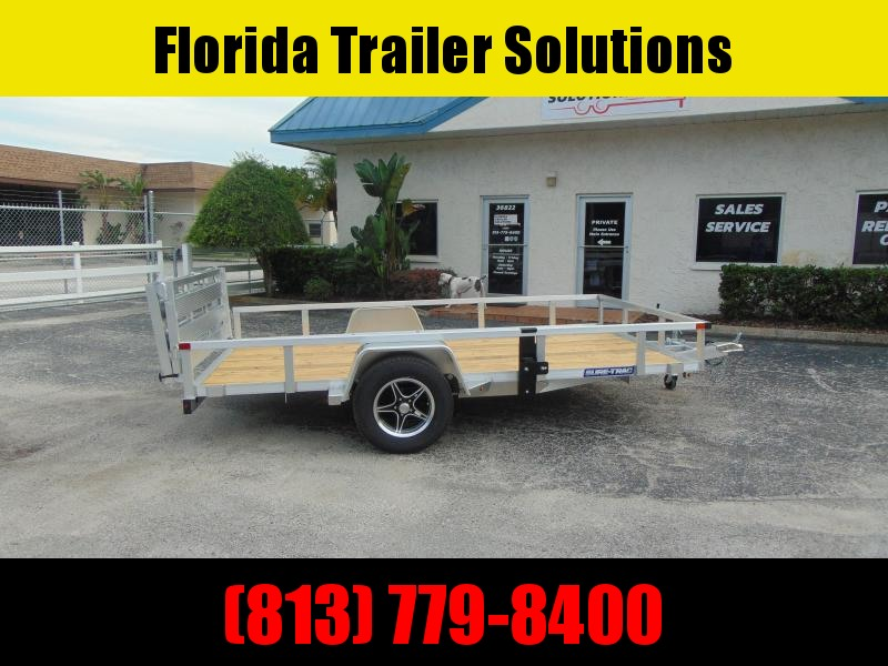 2021 Sure-Trac 7X12 Aluminum Tube Top Utility Trailer
