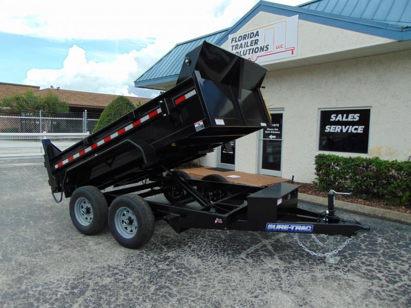 New Sure-Trac 6X10 10K Single Ram Dump Trailer