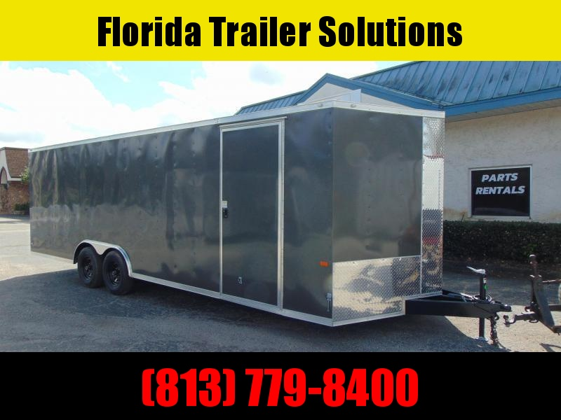 New Rock Solid Cargo 8.5X24 10k Enclosed Car/Racing Trailer w/7' Interior Height