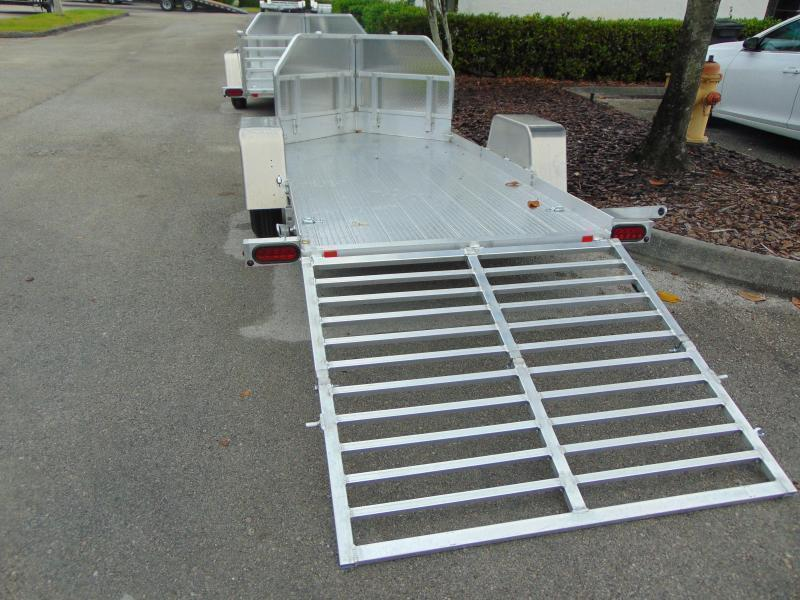 New Bear Track Products 53X120 Motorcycle Trailer