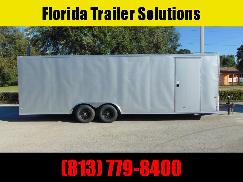 New Rock Solid Cargo 8.5X24 10K Car / Racing Trailer