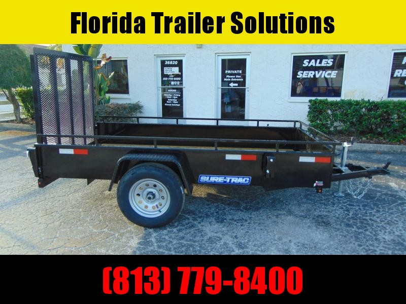 New Sure-Trac 5X10 Steel Side 3k Utility Trailer