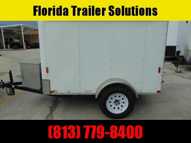 2009 Pre-Owned Carry-On 5X8 Enclosed Cargo Trailer