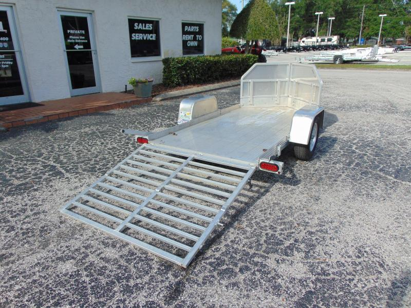 2014 Pre-Owned Bear Track Products 53X120 Motorcycle Trailer