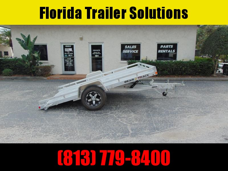 New Bear Track 81X128 All Aluminum Tilt Utility Trailer