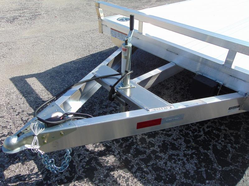 New Sure-Trac 7X20 (16+4) All Aluminum 7k Car Hauler