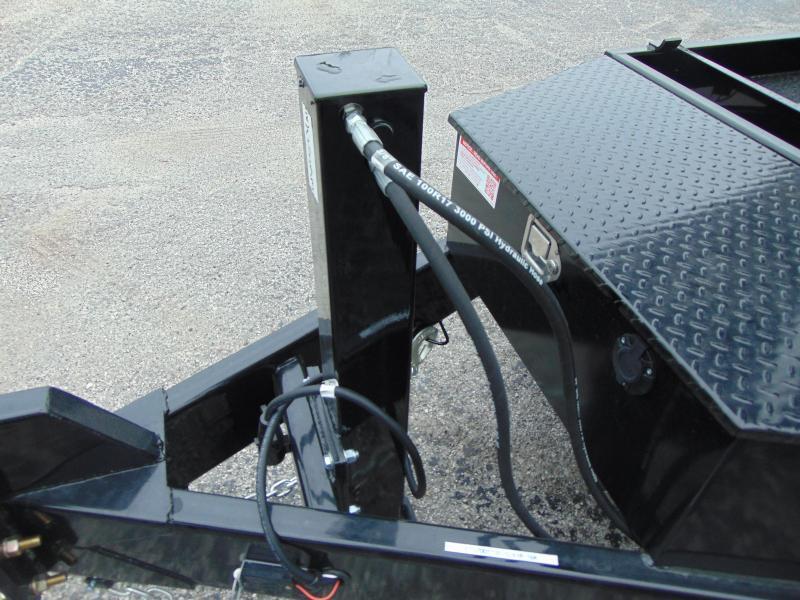 New Sure-Trac 82X16 16K Telescopic Dump Trailer w/Hydraulic Jack