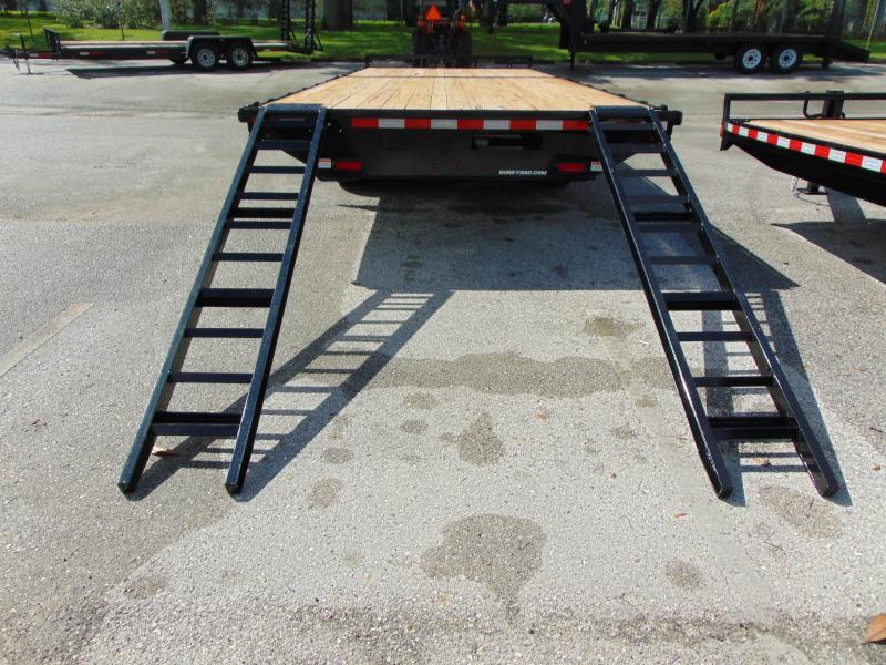 New Sure-Trac 8.5x18 Flatbed Deckover 15K Equipment Trailer