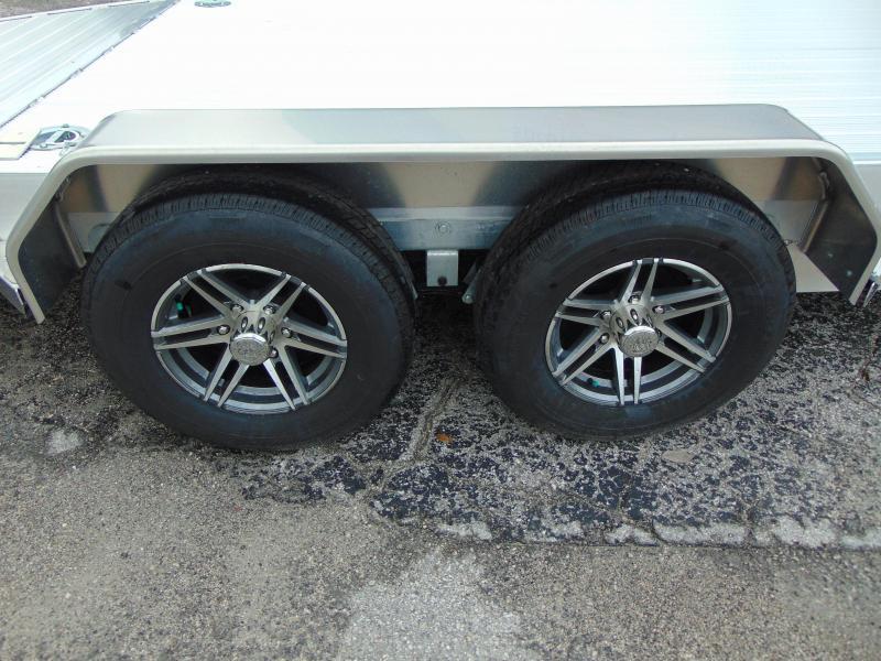 New Sure-Trac 7X18 Aluminum 10k Car Hauler Trailer