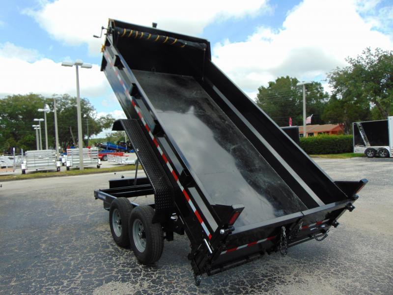 New Sure-Trac 82X14 14k Telescopic Dump Trailer