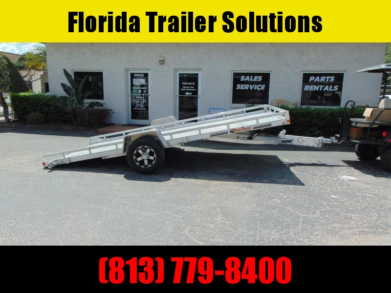 New Bear Track Products 81X152 Tilt Utility Trailer