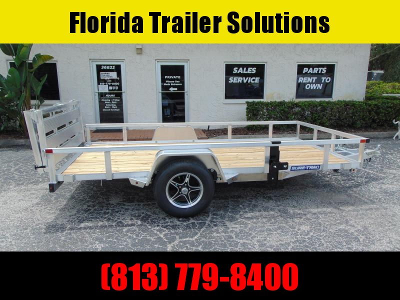 New Sure-Trac 6X12 Aluminum Utility Trailer