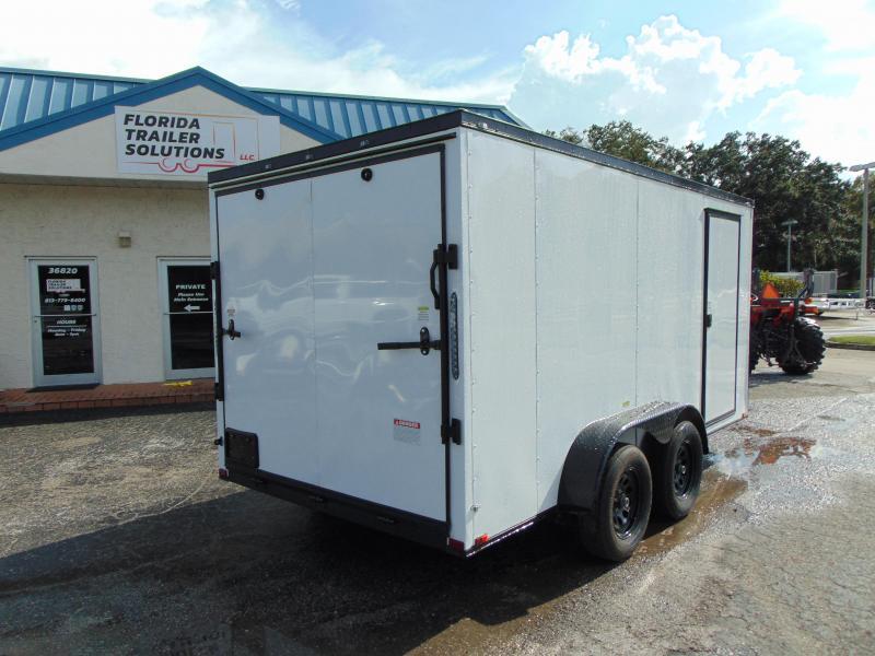 New Quality Cargo 7X14TA Enclosed Cargo Trailer w/ Blackout
