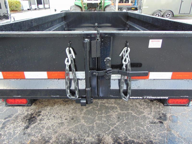 New Sure-Trac 5X10 Low Profile 7k Single Ram Dump Trailer