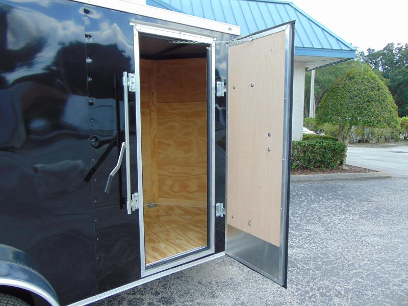 """New Rock Solid Cargo 5X10SA w/12"""" Extra Height Enclosed Cargo Trailer"""