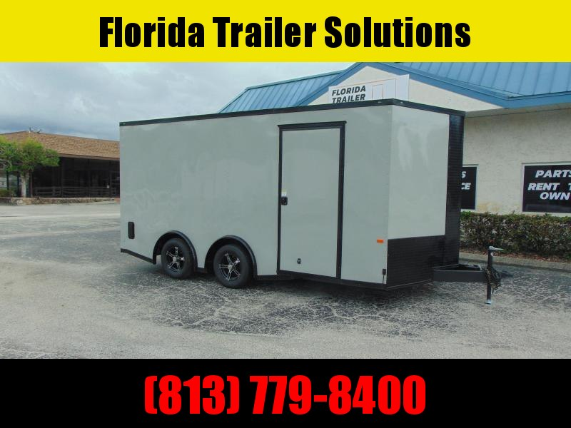 "New Rock Solid Cargo 8.5X16TA 7k Enclosed Cargo Trailer w/6"" Additional Height"