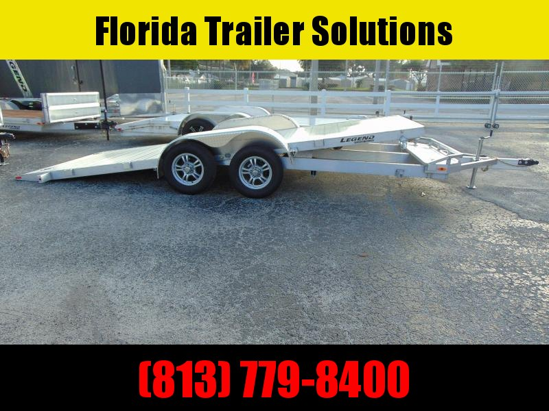New Legend Mfg 7X20 - 7k Tilt Aluminum Car Hauler