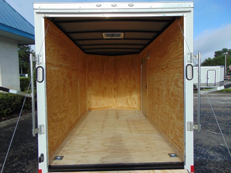 New Rock Solid Cargo 6X12 Tandem Axle Enclosed Cargo Trailer