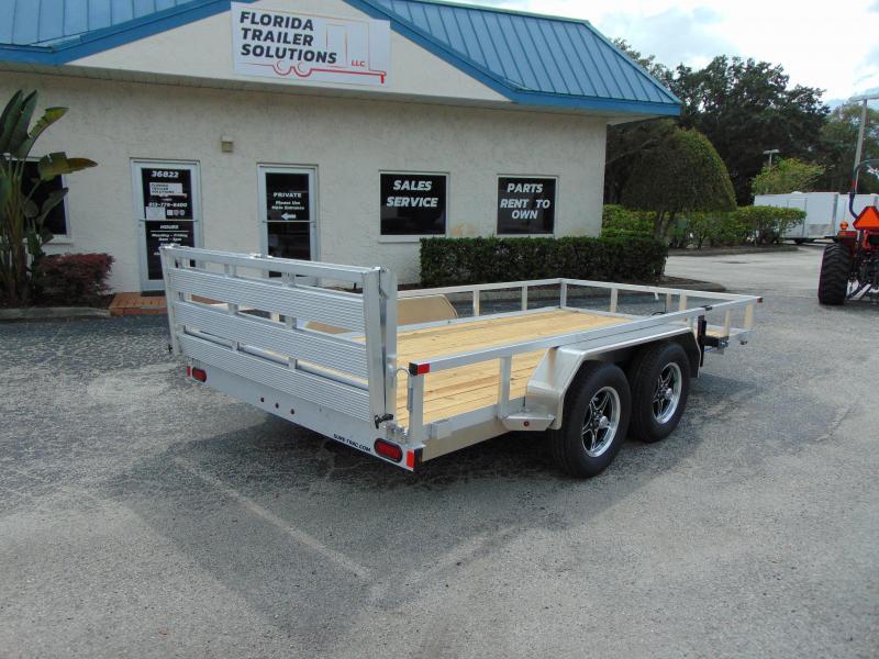 2021 Sure-Trac 7X14 Tandem Axle 7k Aluminum Utility Trailer