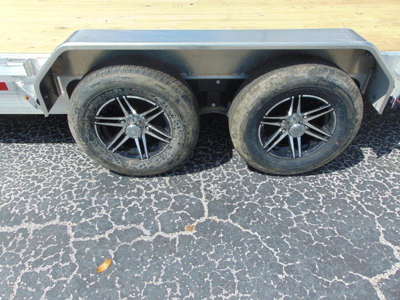 New Sure-Trac 82x20 Aluminum 10k Electric Tilt Car Hauler