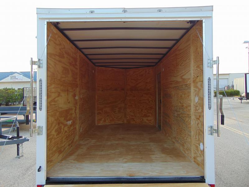New Quality Cargo 7X14TA Enclosed Cargo Trailer w/7' Interior Height