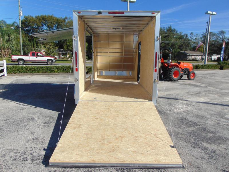 New Legend Manufacturing 7X17 All Sport Deluxe Enclosed Cargo Trailer