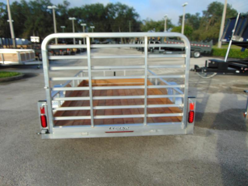 New Legend Manufacturing 6X10 Aluminum Low Side Utility Trailer