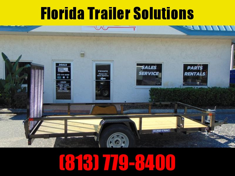 CLEARANCE!  New Sure-Trac 5X12 Tube Top 3k Utility Trailer