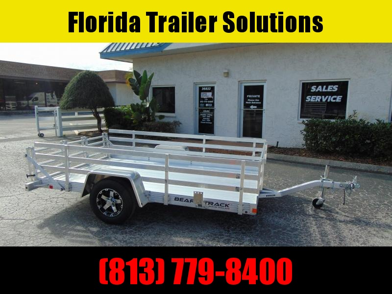 New Bear Track 76x120 All Aluminum Utility Trailer w/Side Kit