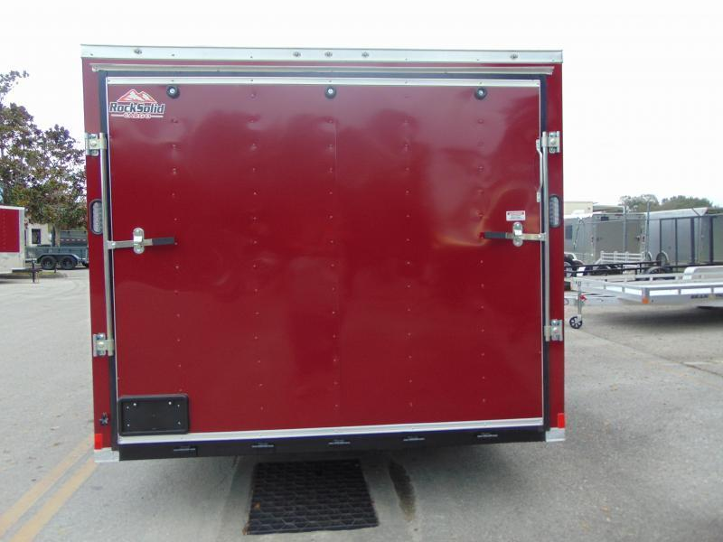 New Rock Solid Cargo 8.5X20TA 7k Car / Racing Trailer