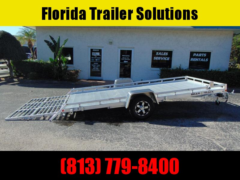 New Bear Track 81X176 All Aluminum SlingShot Tilt Utility Trailer