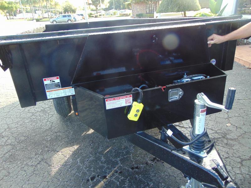 New Sure-Trac 6X10 10K Deckover Dump Trailer