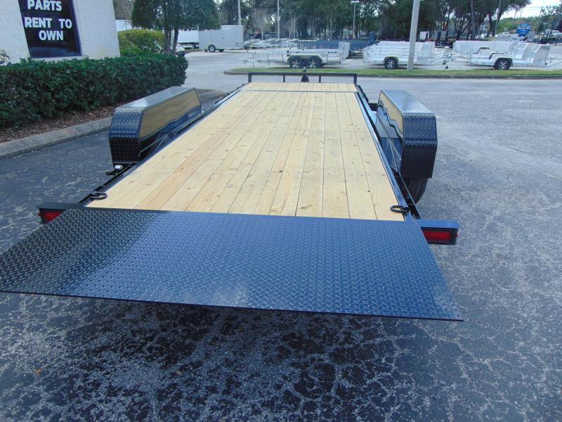 New Sure-Trac 7X18+4 Tilt Bed 14K Equipment Trailer