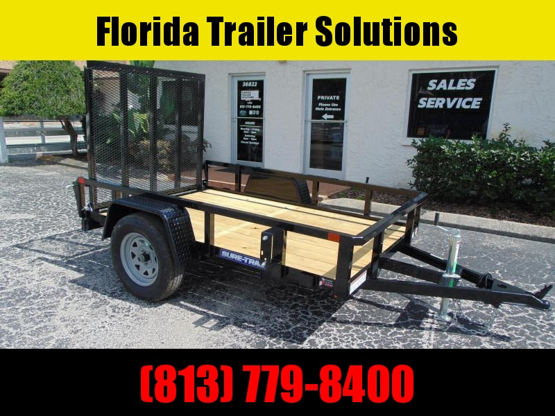 New Sure-Trac 5X8 Tube Top 3k Utility Trailer