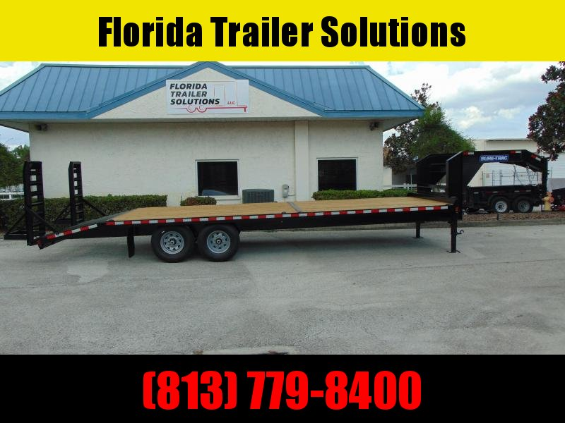 2020 Sure-Trac 8.5X22+4 Beavertail 15k Gooseneck Equipment Trailer