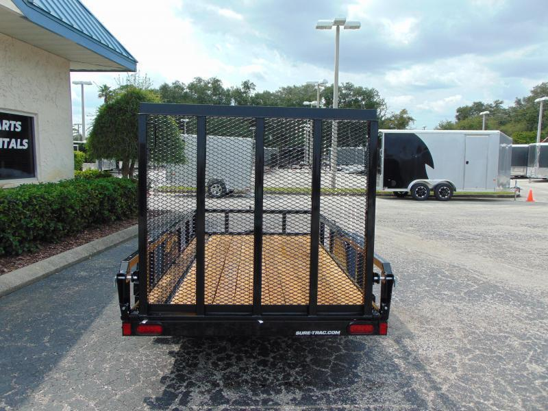 New Sure-Trac 6X10 Tube Top 3k Utility Trailer