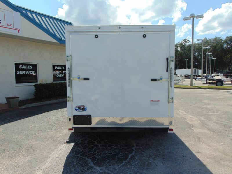 "New Quality Cargo 7X16TA Enclosed Cargo Trailer w/3"" Added Height"