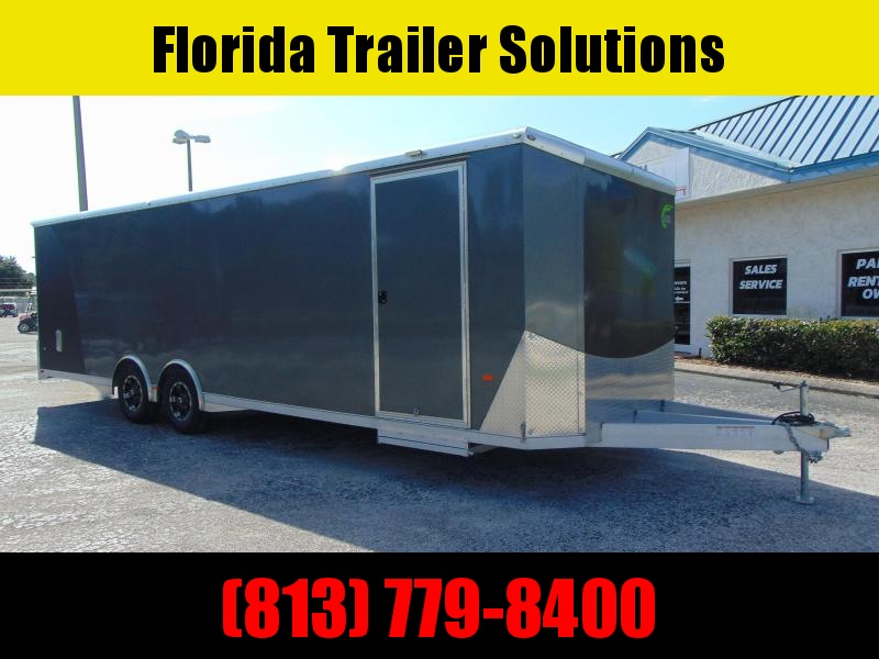 """Pre-Owned 2020 NEO Trailers 8.5X28 Car / Racing Trailer w/6"""" Extra Height!"""