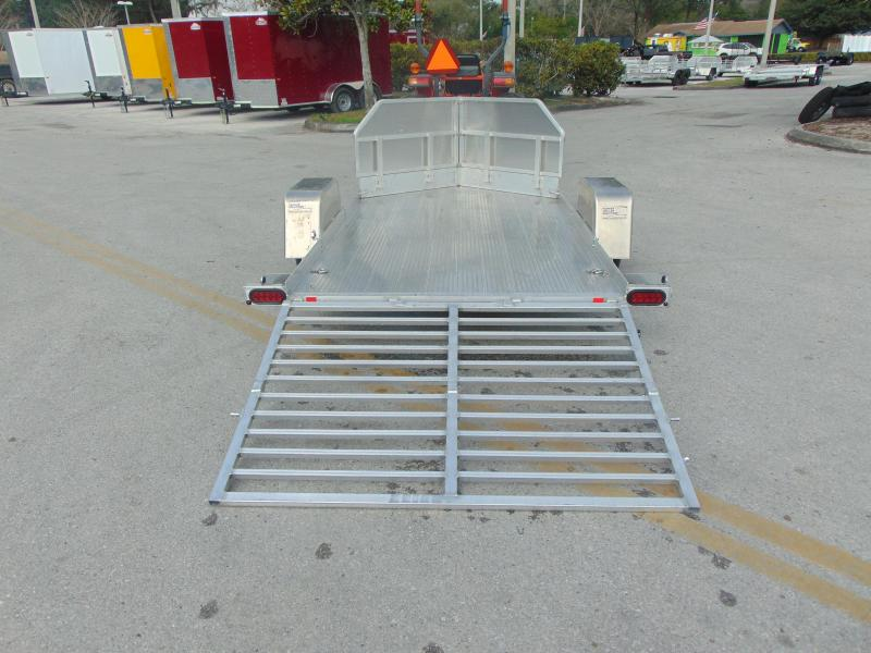Pre-Owned Bear Track 65X120 Motorcycle Trailer